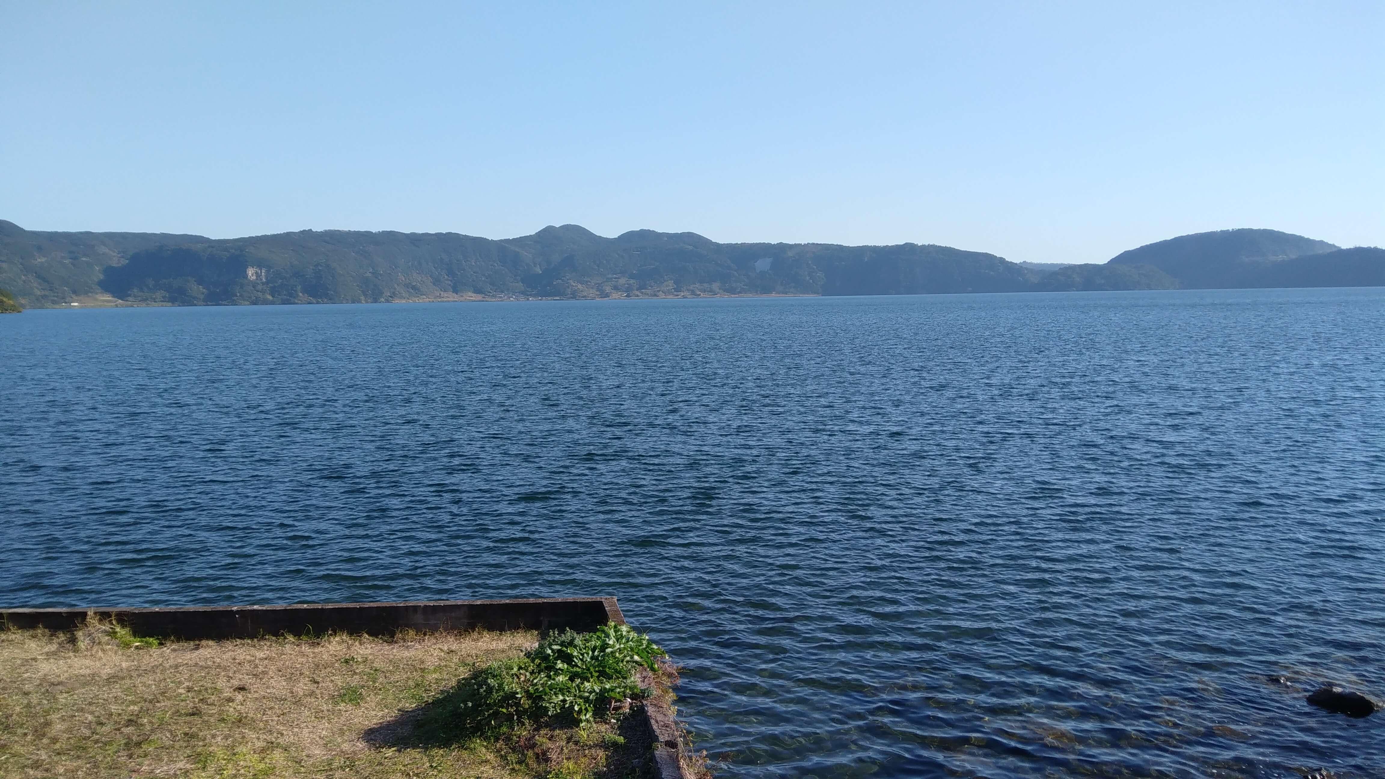 鹿児島の池田湖