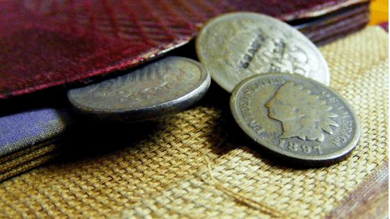 少しのコイン