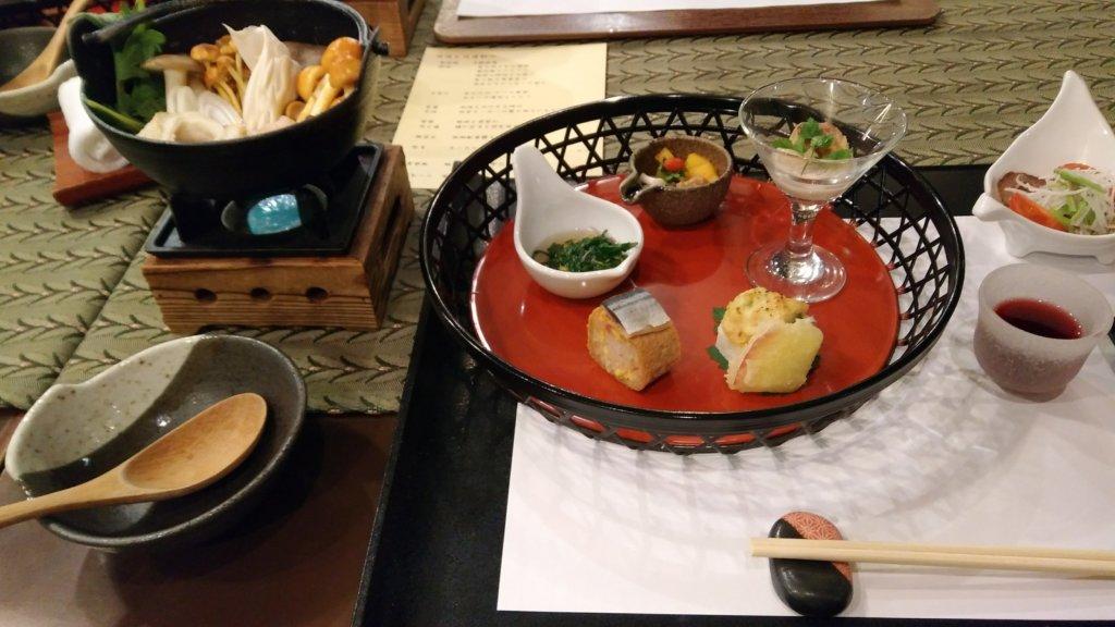 王ヶ頭ホテルの夕食