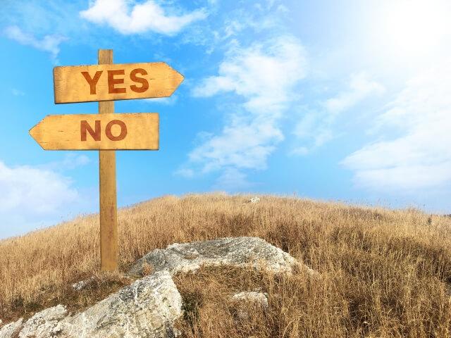 決断しないと人生で損をする。そうならないための方法とは?