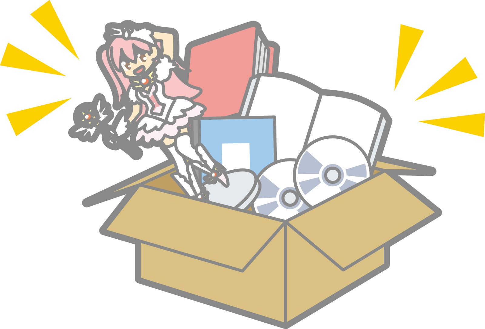 いらなくなったアニメグッズの処分の仕方