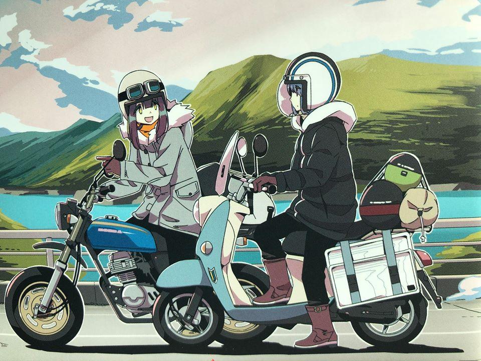 ゆるキャン△のりんちゃんのおじいさんのバイク